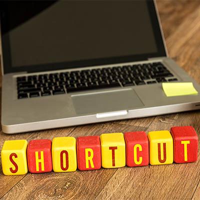 google-shortcuts